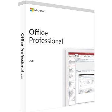 Microsoft Office Professional 2019 (elektronická licence) (269-17068)