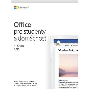 Microsoft Office 2019 pro domácnosti a studenty (elektronická licence) (79G-05018)
