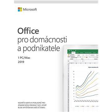 Microsoft Office 2019 pro domácnosti a podnikatele (elektronická licence) (T5D-03183)