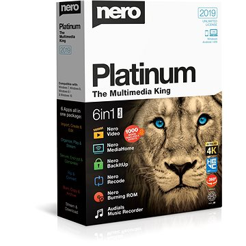 Nero 2019 Platinum BOX (EMEA-12290000/1316)