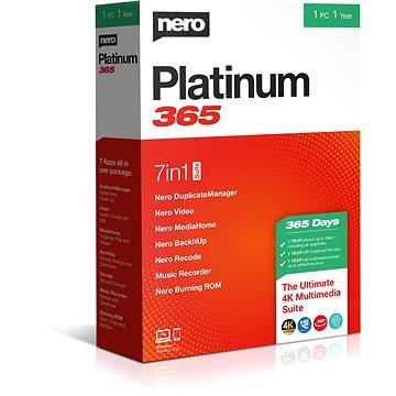 Nero Platinum 365 CZ BOX (EMEA-12200020/1316 )
