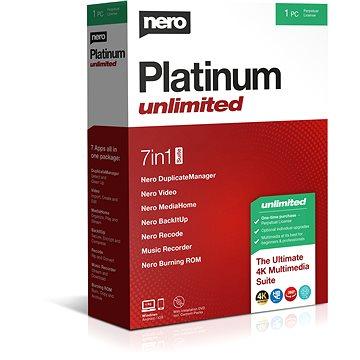 Nero Platinum Unlimited CZ BOX (EMEA-12200010/1316)