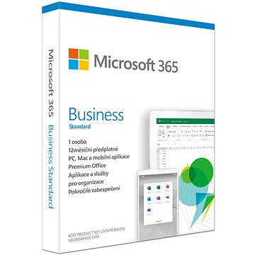 Microsoft 365 Business Standard CZ (BOX) (KLQ-00458)