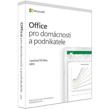 Microsoft Office 2019 pro domácnosti a podnikatele CZ (BOX) (T5D-03305)