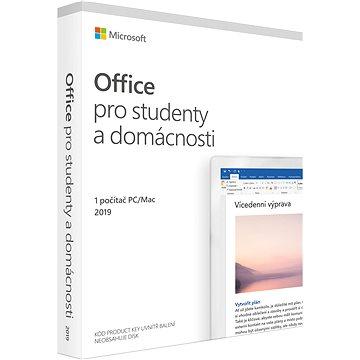Microsoft Office 2019 pro domácnosti a studenty CZ (BOX) (79G-05146)