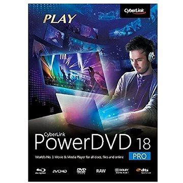 Cyberlink PowerDVD 18 Pro (elektronická licence) (cybepowpro18)