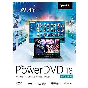 Cyberlink PowerDVD 18 Standard (elektronická licence) (cybepowstd18)