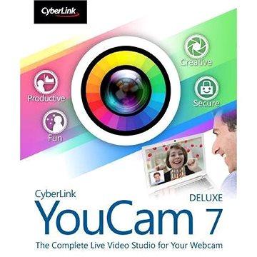 Cyberlink YouCam 7 Deluxe (elektronická licence) (cybeyoudel7)