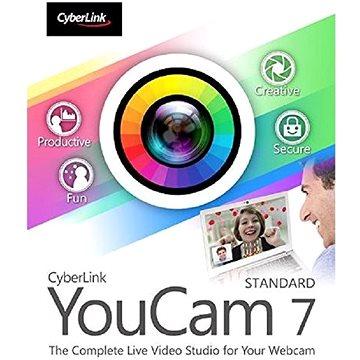 Cyberlink YouCam 7 Standard (elektronická licence) (cybeyoustd7)