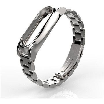 řemínek SXT kovový náramek stříbrný (STXM-001-S)