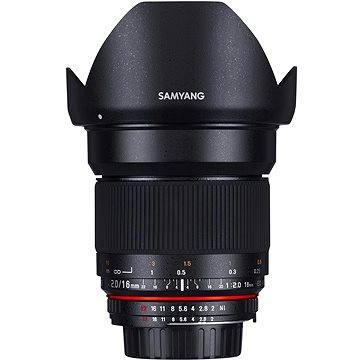 Samyang 16mm F2.0 Nikon AE (F1120703101) + ZDARMA Štětec na optiku Hama Lenspen
