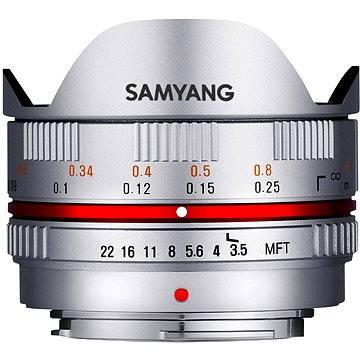 Samyang 7.5mm F3.5 MFT (Silver) (F1230109102)