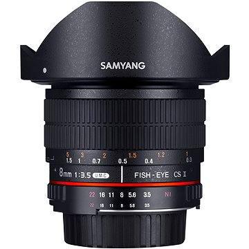 Samyang 8mm T3.8 CSII VDSLR II Canon (F1322401101)