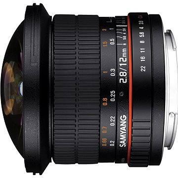 Samyang 12mm F2.8 Canon (F1112101101) + ZDARMA Štětec na optiku Hama Lenspen