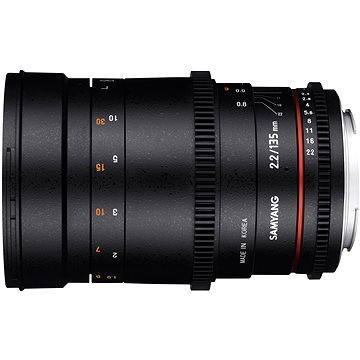 Samyang 135mm T2.2 VDSLR Canon (F1312201101)