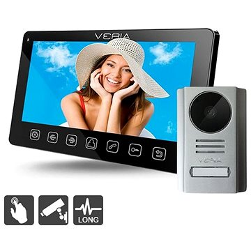 SET videotelefonu VERIA 7070C + VERIA 229 (S-7070C-229)