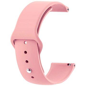 Tactical Silikonový řemínek pro Garmin Vivoactive 3 Pink (8596311085048)