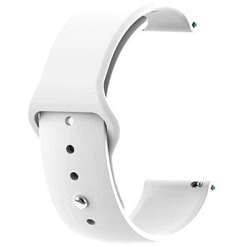Tactical Silikonový řemínek pro Garmin Vivoactive 3 White (8596311085208)