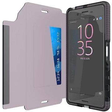 TECH21 Evo Wallet pro Sony Xperia X kouřové (T21-4548)