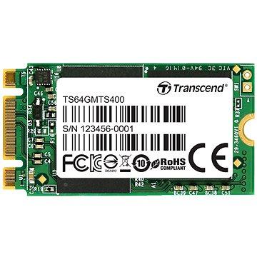 Transcend MTS400 M.2 SSD 64GB (TS64GMTS400S)