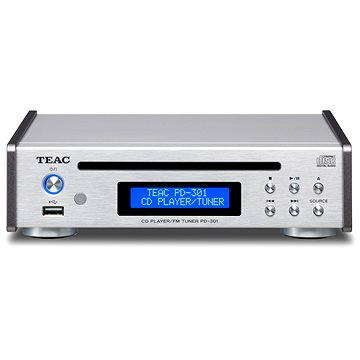 Teac PD-301DAB stříbrný (4907034219780)