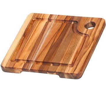 TEAK HAUS 513 Kuchyňské prkénko čtvercové 20x20x2cm (TEAK HAUS 513)