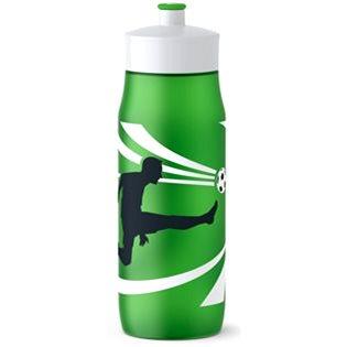 TEFAl SQUEEZE měkká láhev 0.6 l zelená-fotbal (K3201412)