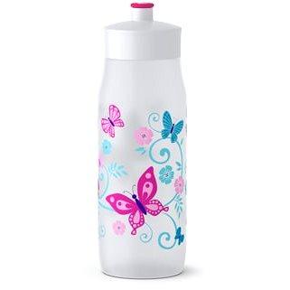 Tefal SQUEEZE měkká láhev 0.6 l bílá-motýli (K3201512)