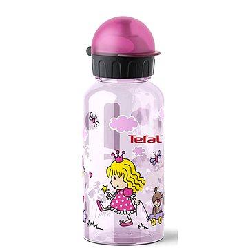 TEFAL KIDS láhev tritan 0.4 l růžová-princezna (K3170114)