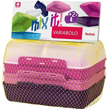 TEFAL VARIOBOLO CLIPBOX 2ks barevná dóza - dívčí (K3169014)