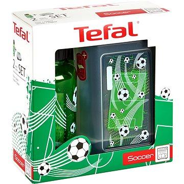 Tefal Sada dóza a láhev 0.4l KIDS zelená-fotbal (K3169314)