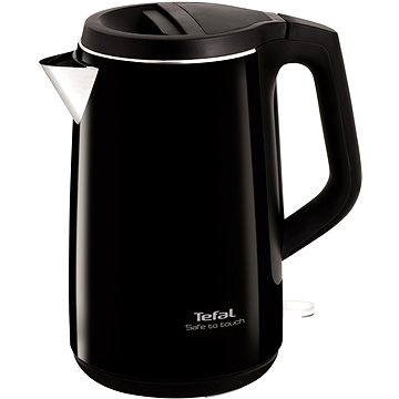 Tefal Safe to touch 1,5 l black KO3708