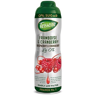 Teisseire raspberry & cranberry 0,6l 0% (3092718613044)