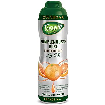 Teisseire pink grapefruit 0,6l 0% (3092718613105)