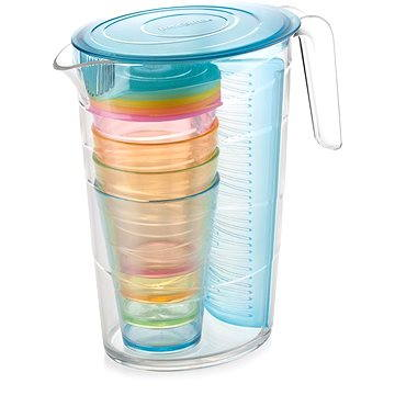 Tescoma Džbán myDRINK 2.5l, 4 poháry s víčkem-Mo (308802.30)
