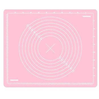 Tescoma Vál silikonový DELÍCIA DECO 55x45cm, růžový (632880.19)