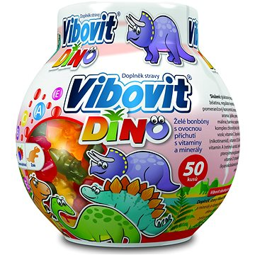 Vibovit Dino želé multivitaminy 50 ks (3702348)