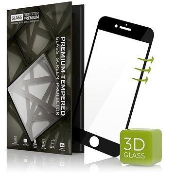 Tempered Glass Protector pro iPhone 6 Plus/6S Plus 3D GLASS, černé (TGP-IPB-01-RB)