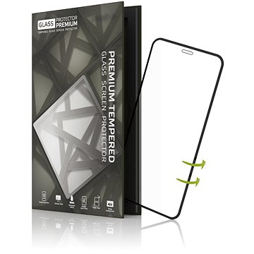 Tempered Glass Protector 3D Case Friendly pro iPhone X/XS Černé (TGP-IPXC-01)