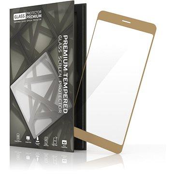 Tempered Glass Protector Rámečkové pro Samsung Galaxy J3 (2016) Zlaté (TGR-SG2-GO)