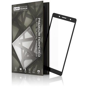 Tempered Glass Protector Rámečkové pro Sony Xperia XZ2 Compact Černé (TGR-SXZC-BL)