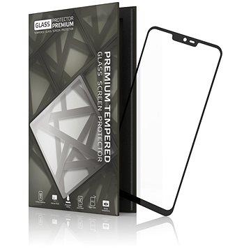Tempered Glass Protector Rámečkové pro LG G7 Černé (TGR-LG7-BL)