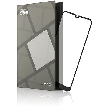 Tempered Glass Protector Rámečkové pro LG Q60 Černé (TGR-LQ60-BL)