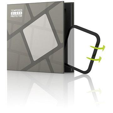 Tempered Glass Protector pro Apple Watch 5 40mm - 3D GLASS, Černé (TGR-AW54-BL)