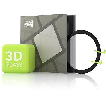 Tempered Glass Protector pro Samsung Galaxy Watch Active 2 40mm - 3D GLASS, Černé (TGR-SGWA24-BL)