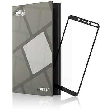 Tempered Glass Protector Rámečkové pro Nokia 3.1 Plus Černé (TGR-NK31P-BL)
