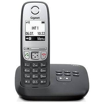 GIGASET A415A Black+záznamník (4250366837130)