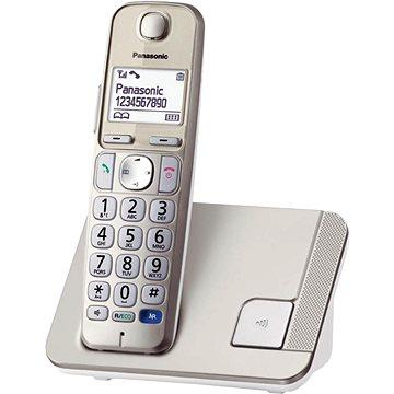 Panasonic KX-TGE210FXN Gold/White (KX-TGE210FXN)