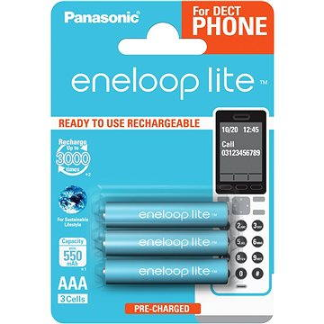 Panasonic DECT AAA 4LCCE/3BE ENELOOP (35049212)