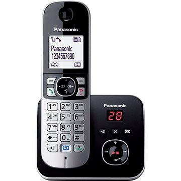 Panasonic KX-TG6821FXB Black záznamník